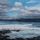 Rain Promised II, Oil on canvas, 76 x 76cm, €1400